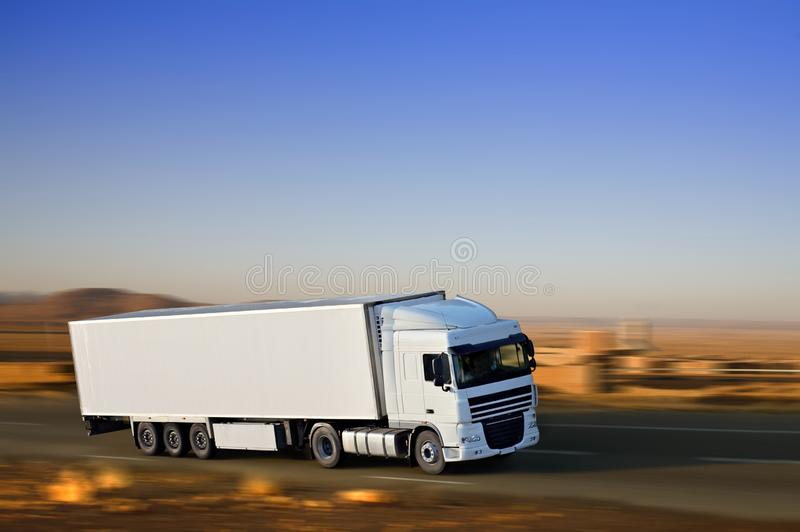 Download Big white stock photo. Image of delivery, busy, driving - 11300580