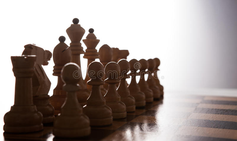 Download Big White Chess Pieces Set Royalty Free Stock Images - Image: 36705049