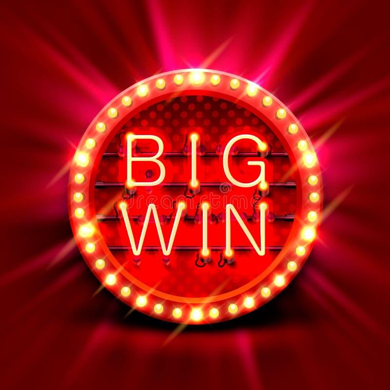 Big Win Slots 777 Banner Casino Background. Stock Vector - Illustration of  banner, king: 99912618