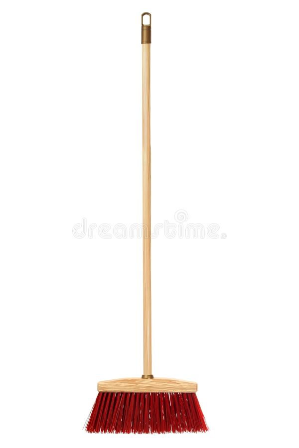 Big wooden broom royalty free stock images
