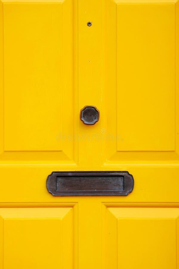 Free Big Yellow Door Royalty Free Stock Image - 7899066