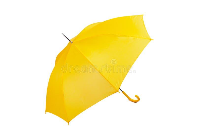 Big yellow umbrella royalty free stock image
