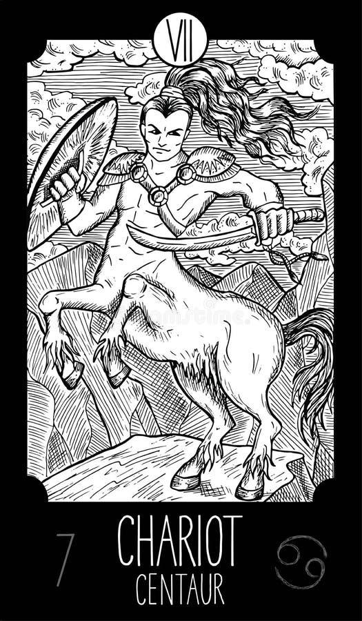 Biga Centaur illustrazione di stock