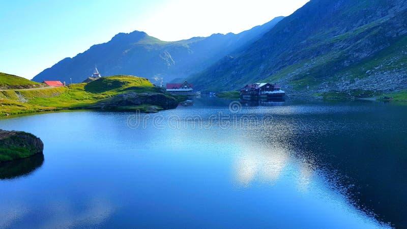 Bigar湖 免版税库存图片