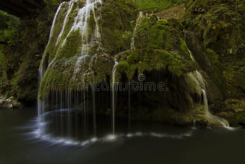 Bigar vattenfall arkivbilder