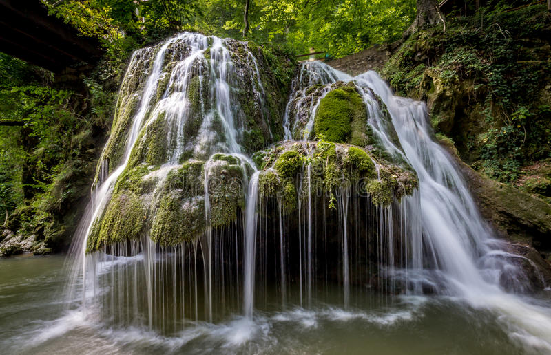 BIGAR WATEFALL | Caransebes royaltyfria foton