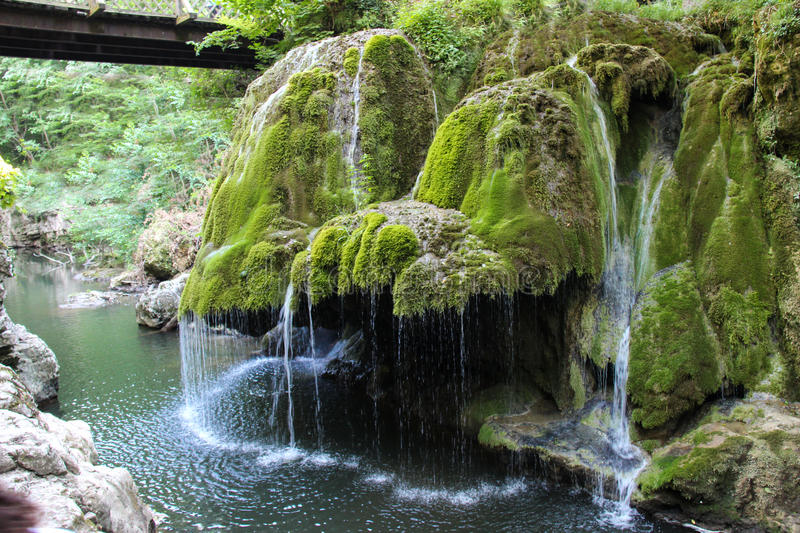 Bigar waterfall romania stock image image of north for Most spectacular waterfalls