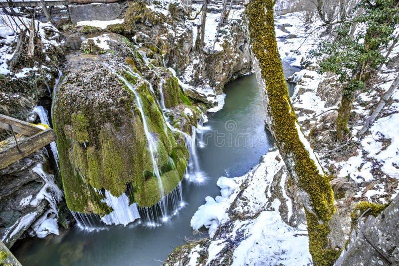Bigar waterfall, Romania royalty free stock images