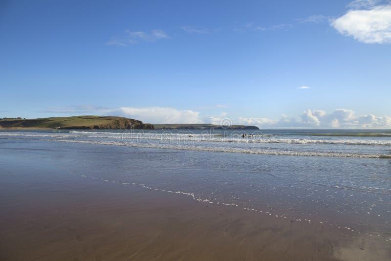 Bigbury auf Meer, Devon, England lizenzfreies stockbild