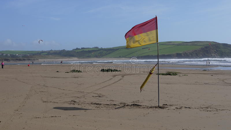 Download Bigbury-on-sea stock image. Image of 2011, england, christie - 27183003