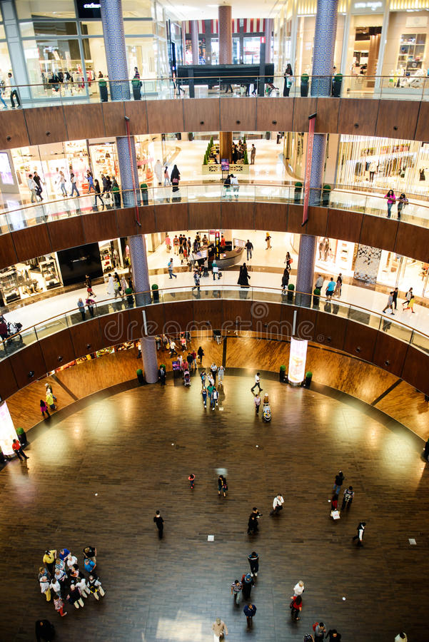 Download The Bigesst Mall In The World Dubai Mall Editorial Stock Image - Image: 37926349