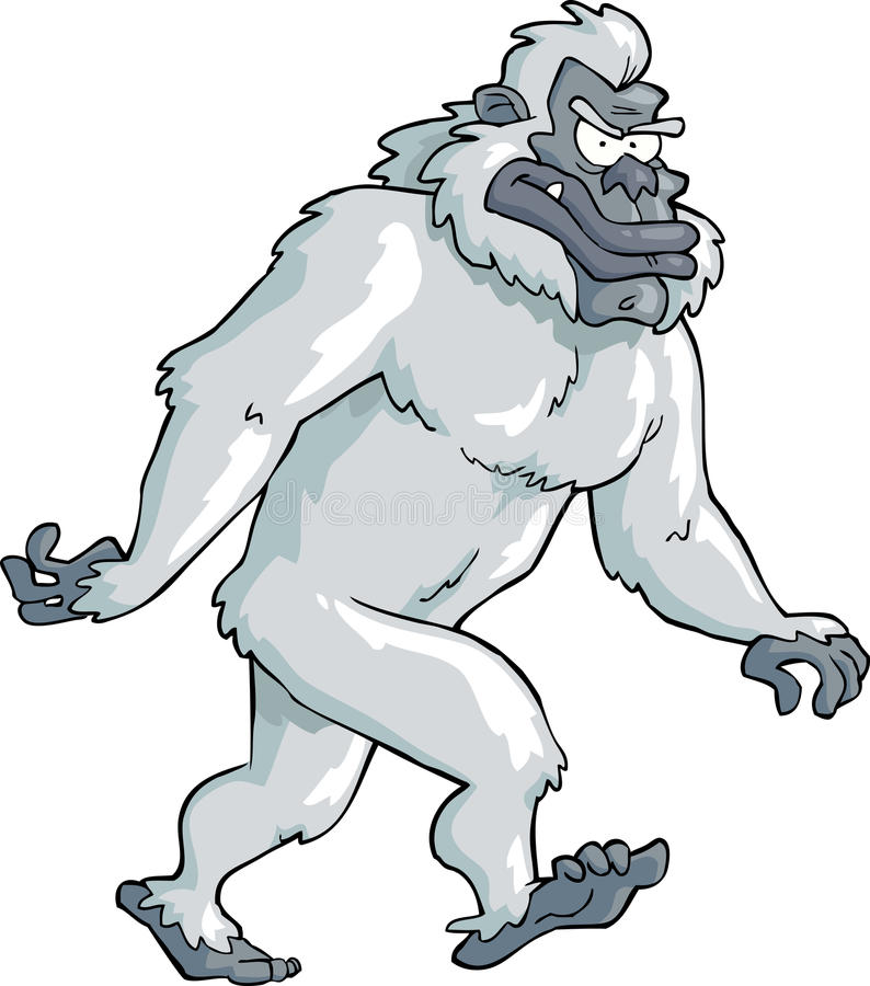 bigfoot ilustración del vector