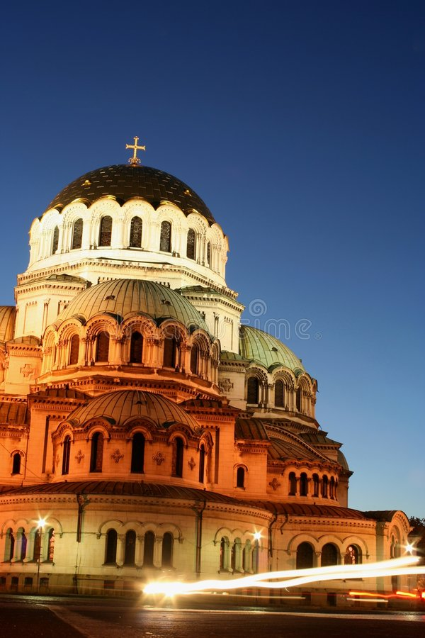 The biggest church in Bulgaria royalty free stock image