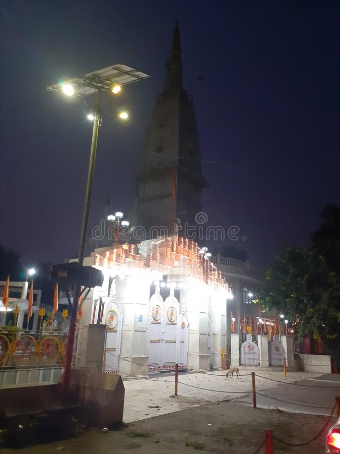 Biggest temple in meerut city india. This is the biggest temple in meerut u.p india royalty free stock photo
