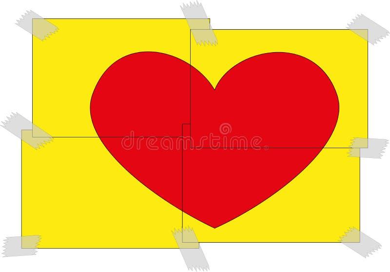Biglietti di S. Valentino day2 fotografie stock
