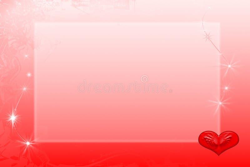Biglietti di S. Valentino della struttura illustrazione di stock