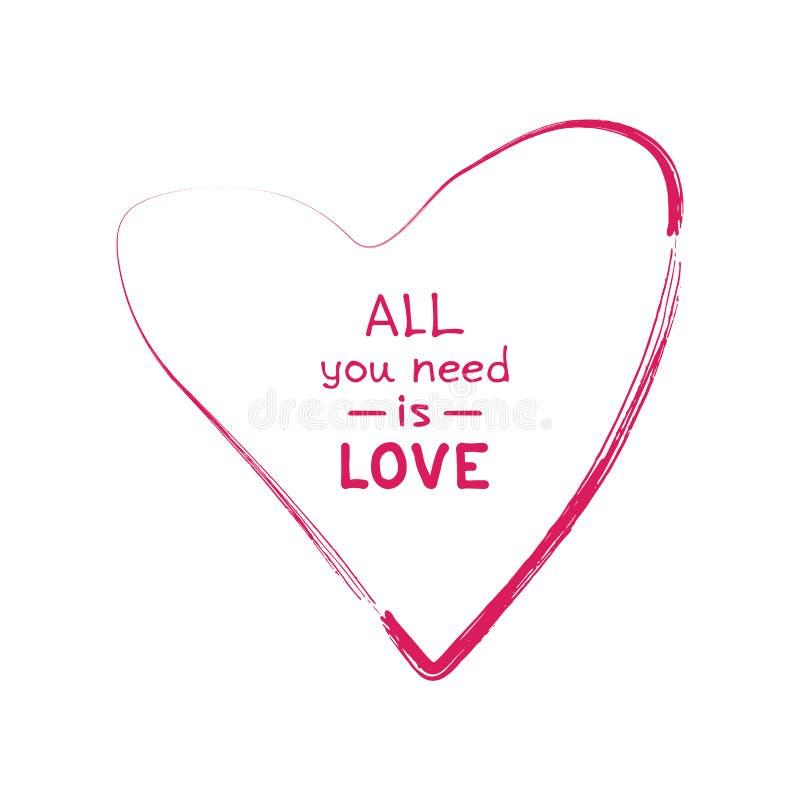 Biglietti di S. Valentino heart-02 royalty illustrazione gratis