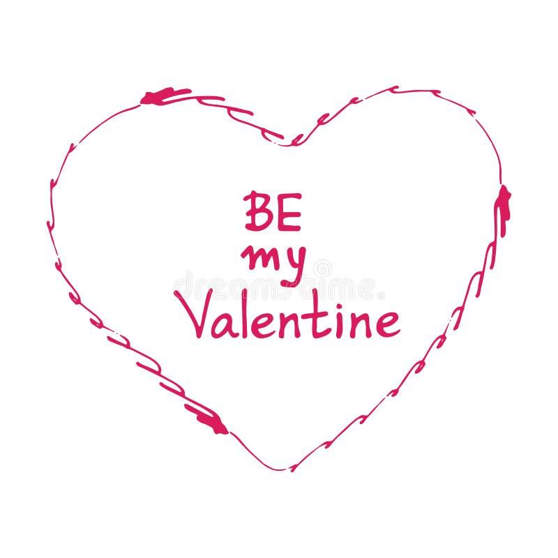 Biglietti di S. Valentino heart-08 royalty illustrazione gratis