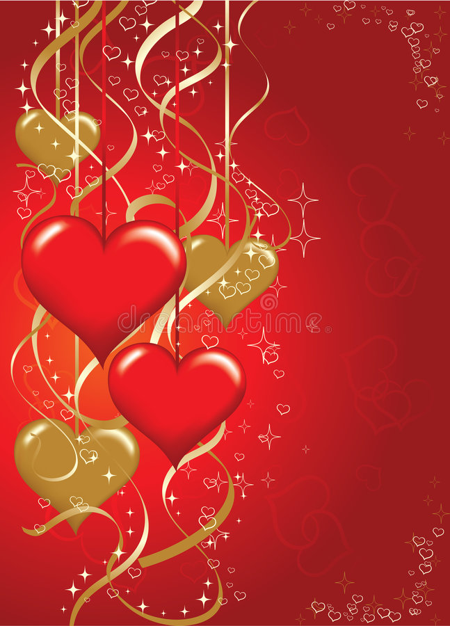 Download Biglietti Di S. Valentino Priorità Bassa, Vettore Illustrazione Vettoriale - Illustrazione di festa, cuore: 3888285
