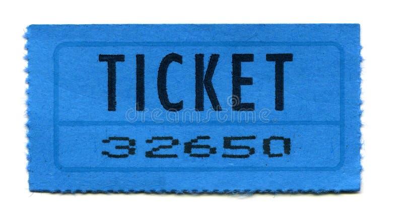 Biglietto fotografie stock libere da diritti