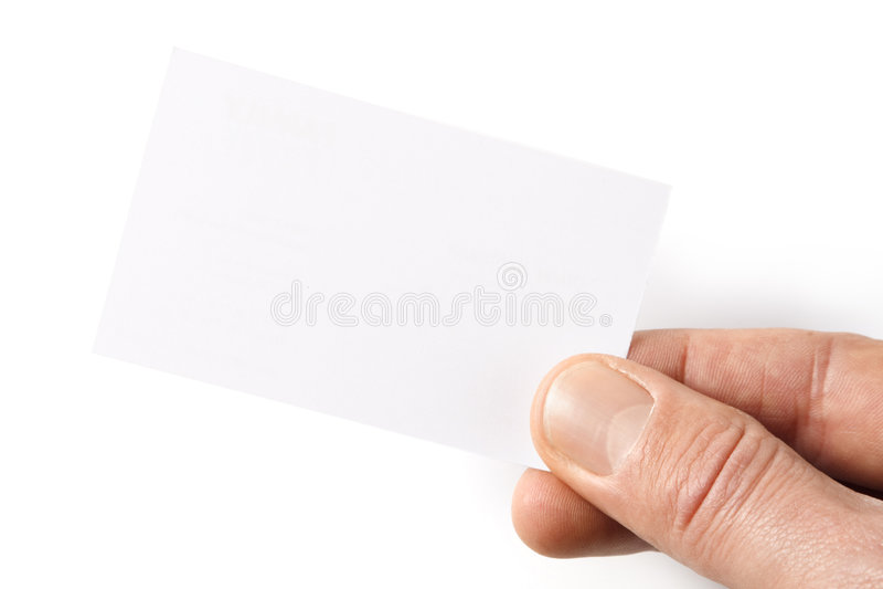 Biglietto da visita immagini stock