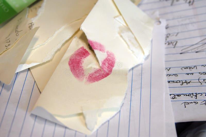 Biglietto di S. Valentino-di meno immagine stock