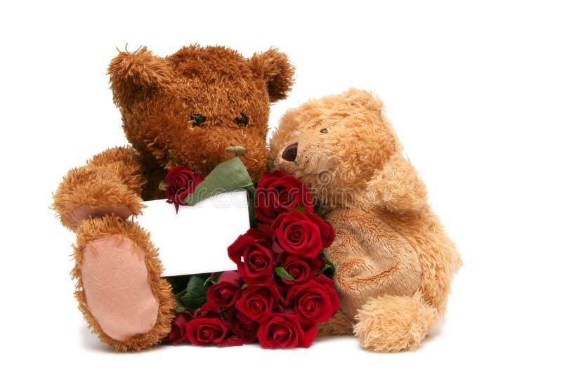 Biglietto di S. Valentino dolce fotografie stock