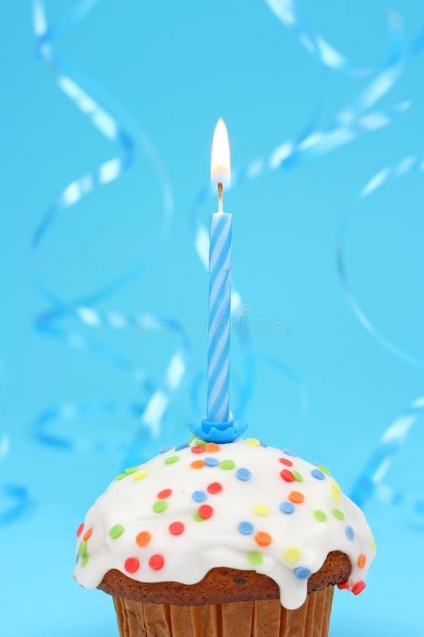 Bigné di compleanno immagini stock