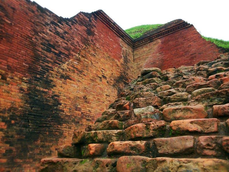 Bihar budista no patrimônio mundial de Bangladesh fotos de stock royalty free