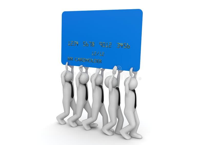 Biiiiig Credit Card Stock Photography