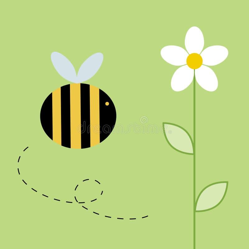 Bij vector illustratie