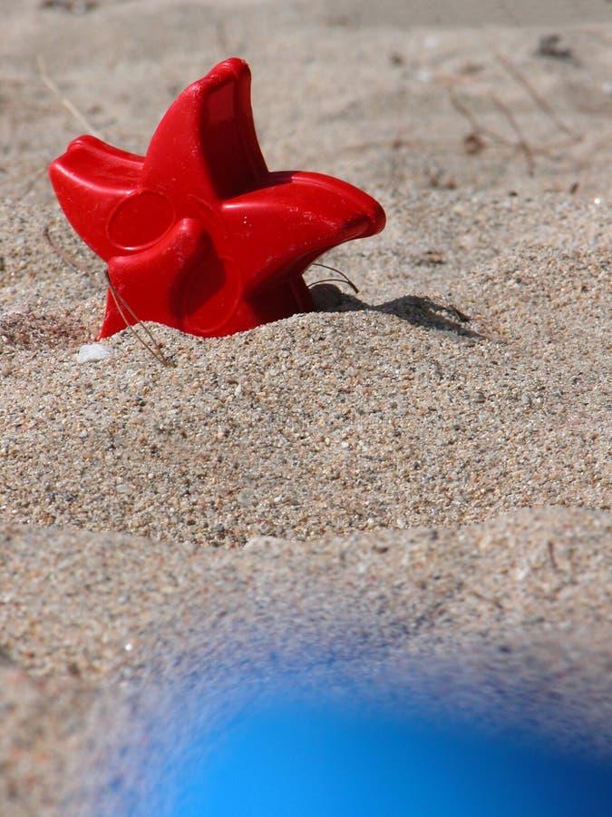 Bij strand 3 stock afbeelding