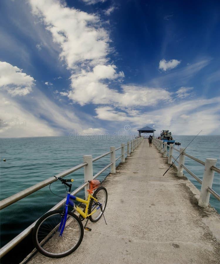 Bij visserij? stock foto's