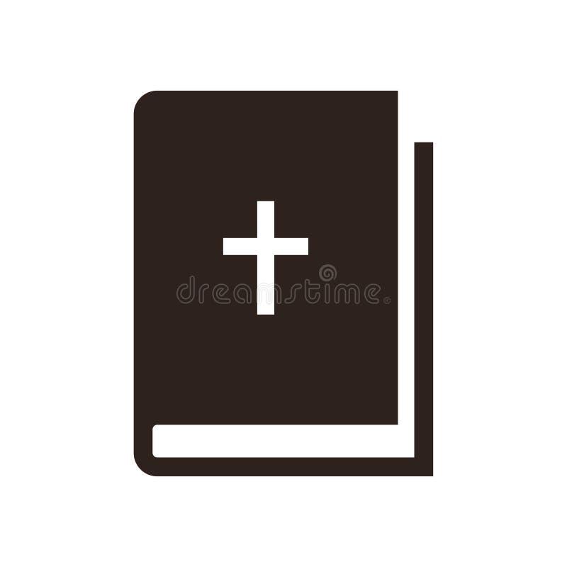 Bijbelpictogram stock illustratie