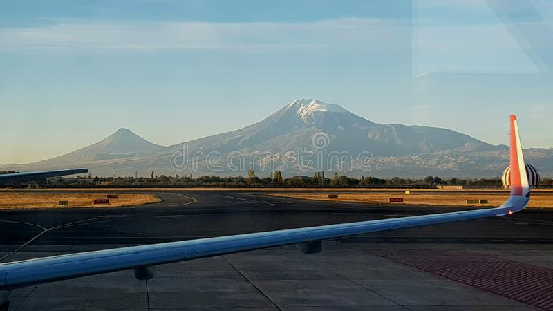 Bijbelse Berg Ararat royalty-vrije stock foto's