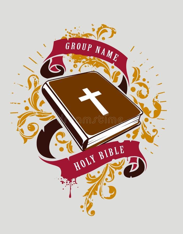 Bijbelvector stock illustratie