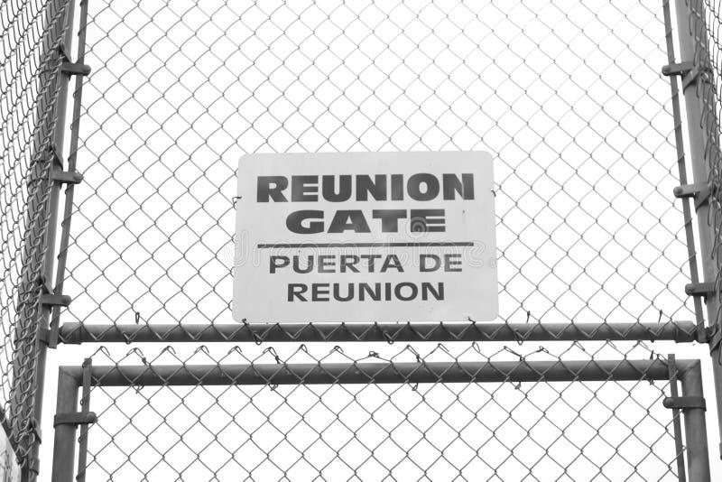 Bijeenkomstpoort (Puerta DE Reunion) stock foto's