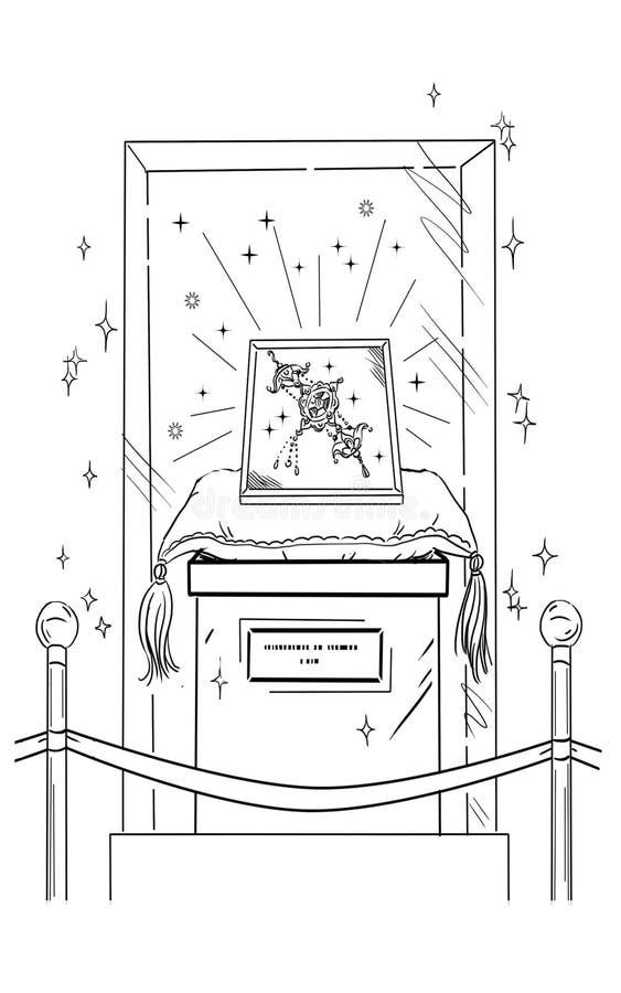 bijou illustration stock