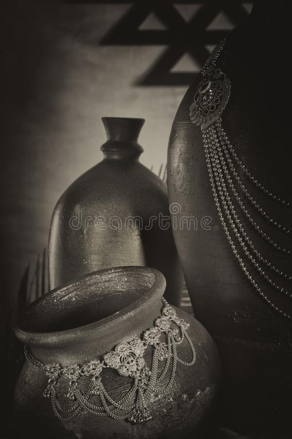 Bijou antique photo stock