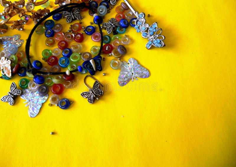 Bijouterier av fjärilar royaltyfria bilder