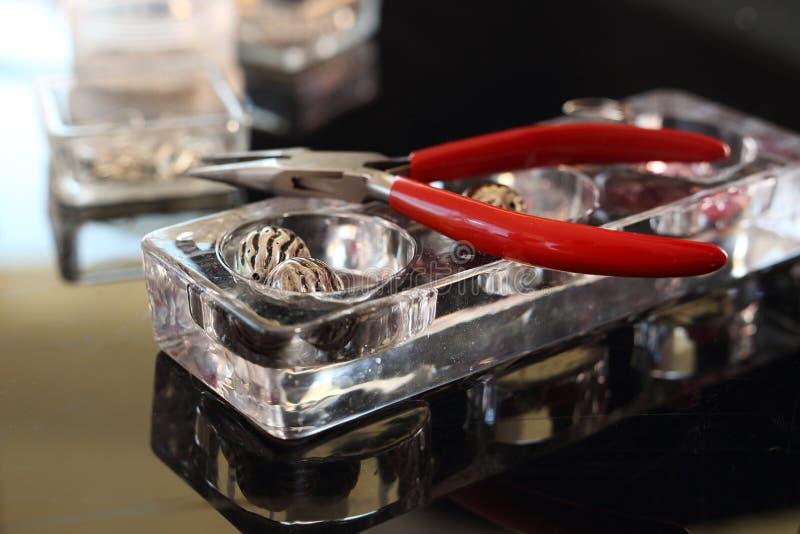 Bijoutier d'instruments images stock