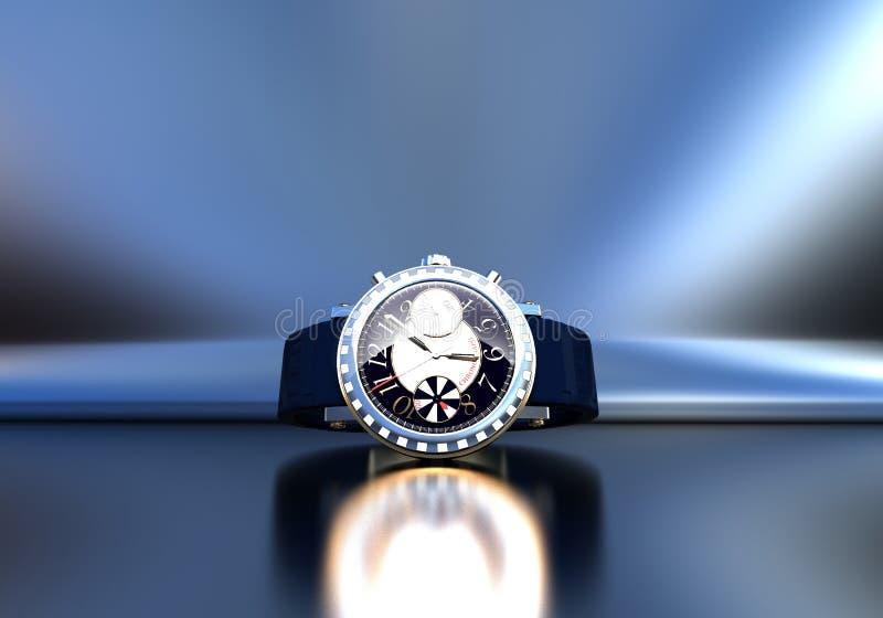 Bijoux chers de montre-bracelet images stock