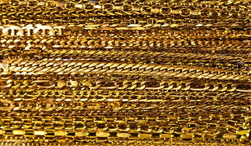 Bijoux d'or image libre de droits
