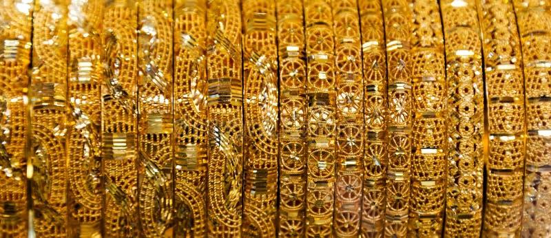 Bijoux d'or photo stock