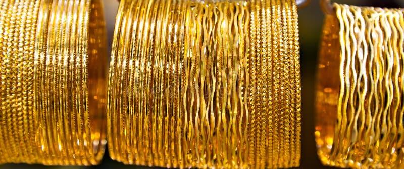 Bijoux d'or image stock