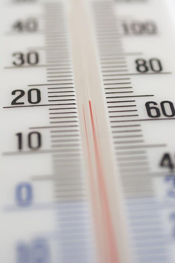 Bijzondere thermometer stock foto's