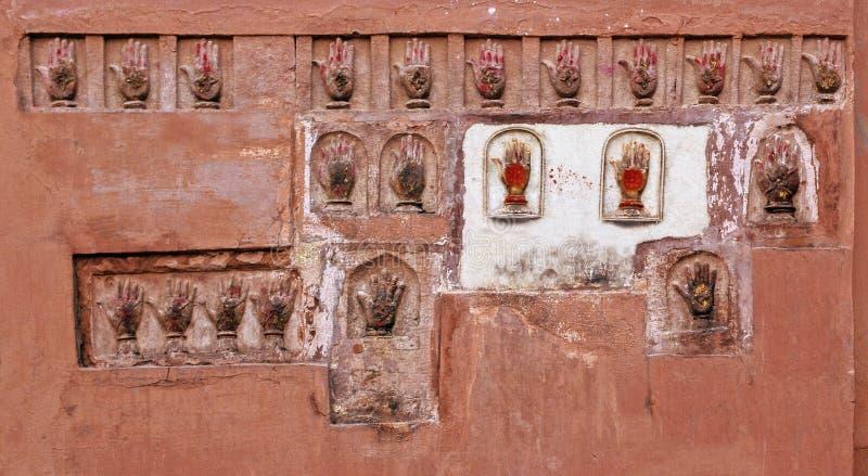 Bikaner Hand Prints Royalty Free Stock Image
