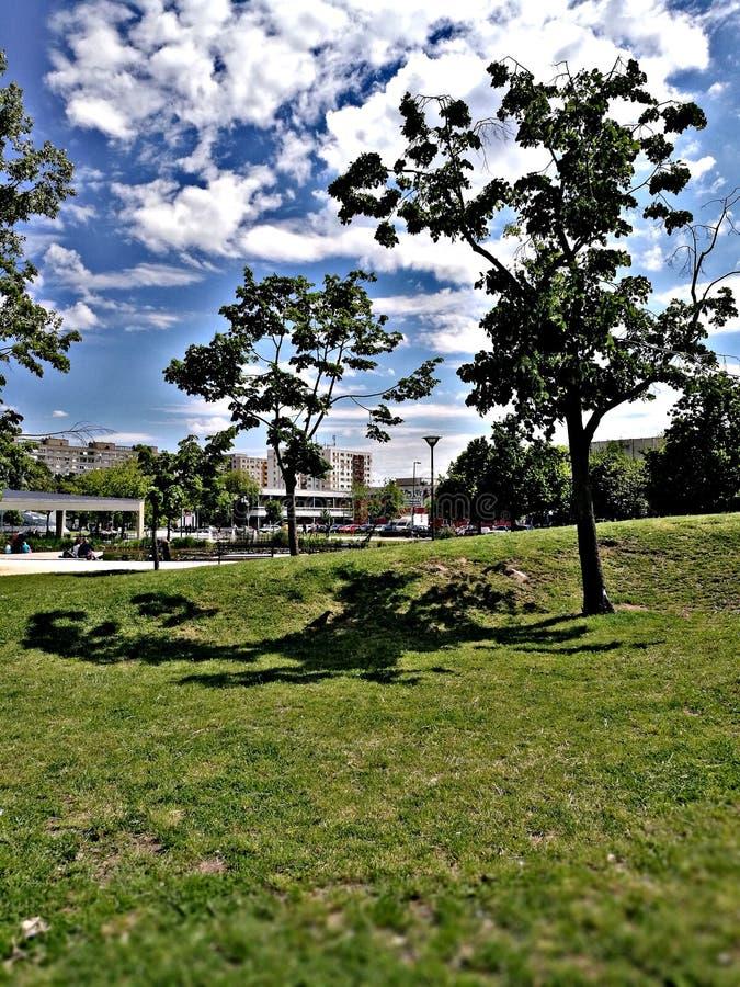 Bikaspark in Boedapest royalty-vrije stock afbeeldingen