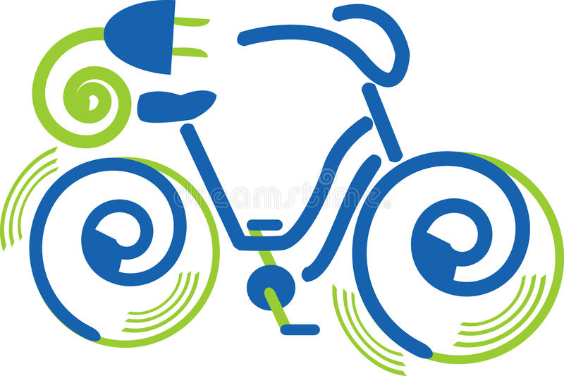 bike электрический стоковое изображение rf
