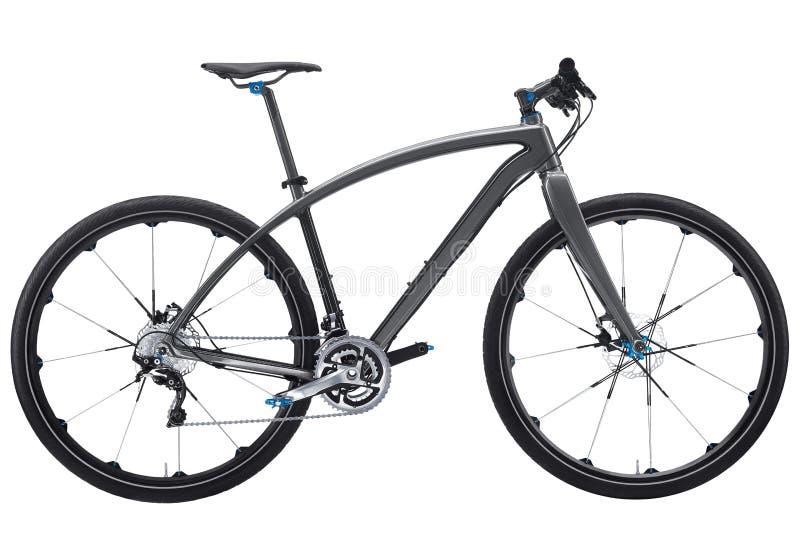 Bike. Carbon road bike. Isolated on white background stock photo